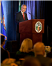 Chairman North delivering the 2019 State of the County Address