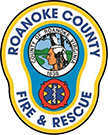 Roanoke County's Fire and Rescue Department Badge