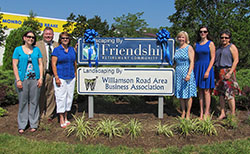 Friendship Ribbon Cutting
