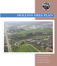 Hollins Area Plan Cover