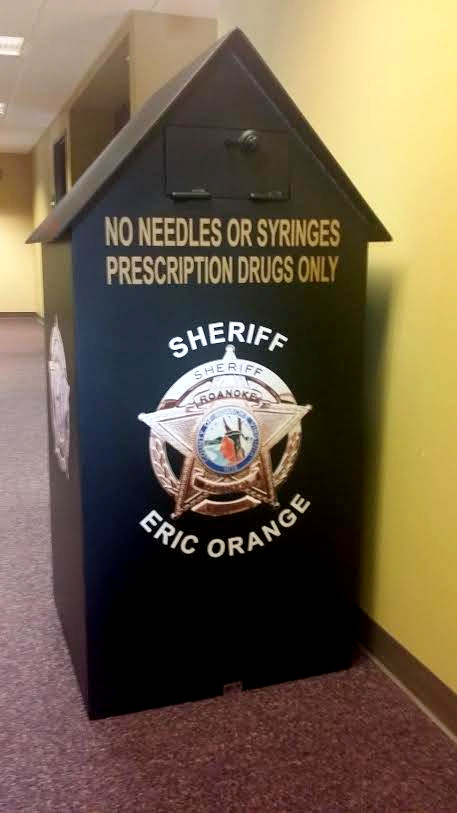 Drug Take Back Box