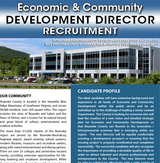 ECD Director Recruitment
