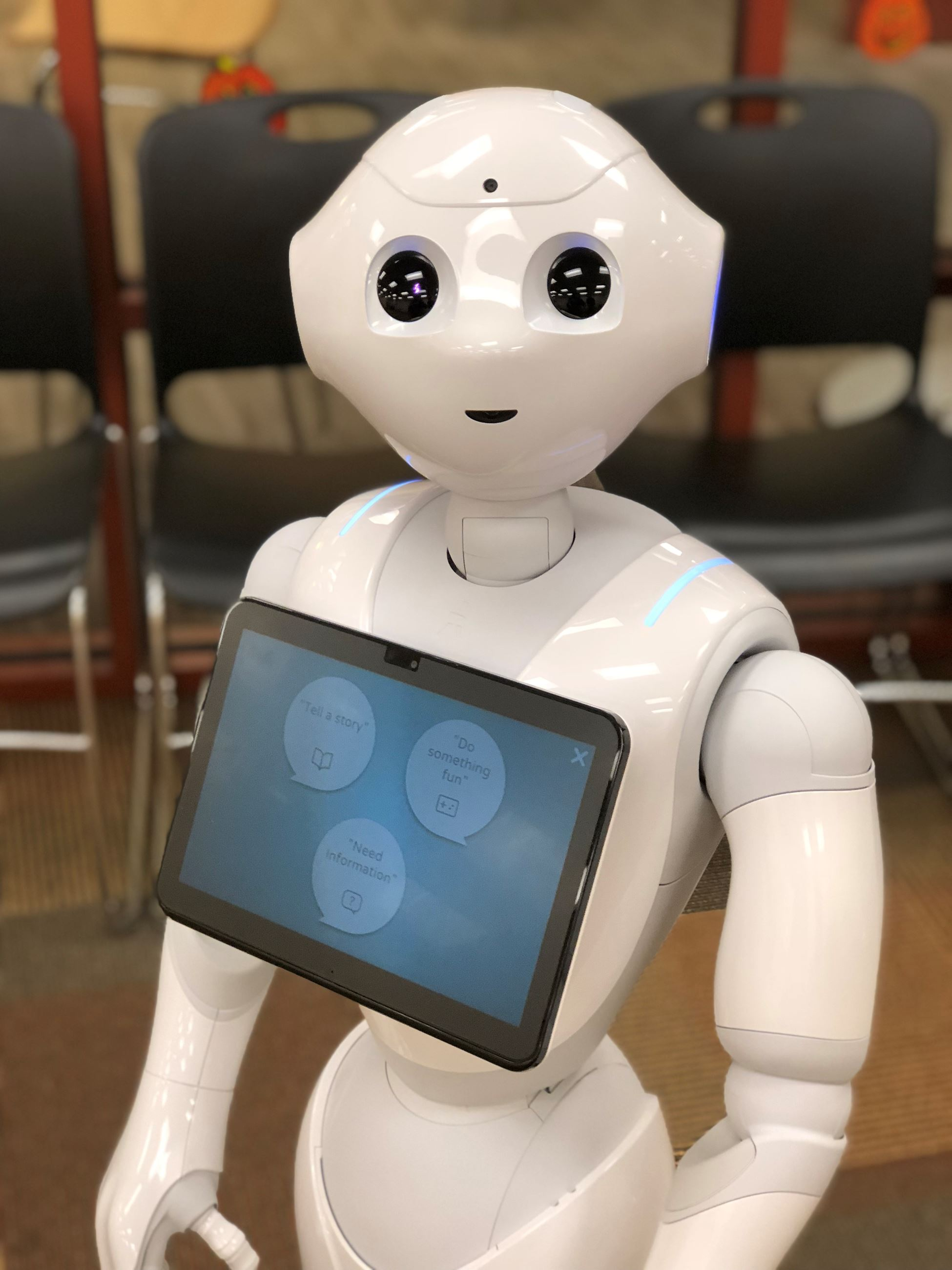 Pepper, the Humanoid Robot