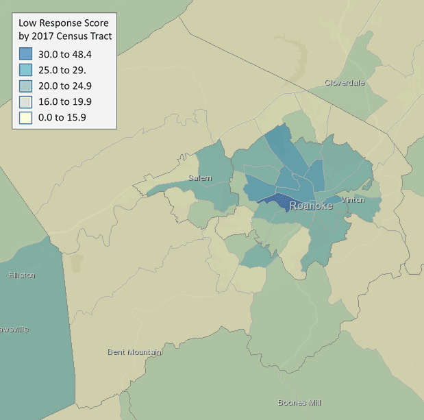 Census Area Map