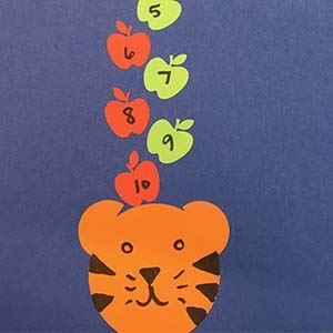 Apples on Tiger Head Counting
