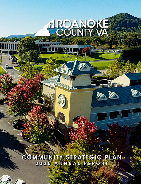 Roanoke County 2020 CSP Annual Report Cover Graphic 450px