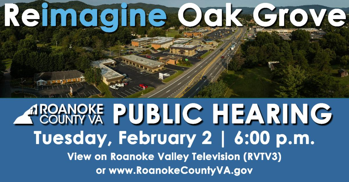 Oak Grove Public Hearing Graphic