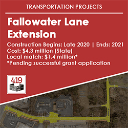 Small_Fallowater Lane Extension Opens in new window