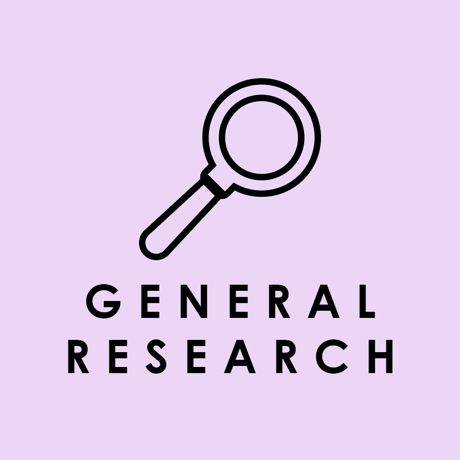 General Research Databases Icon Opens in new window