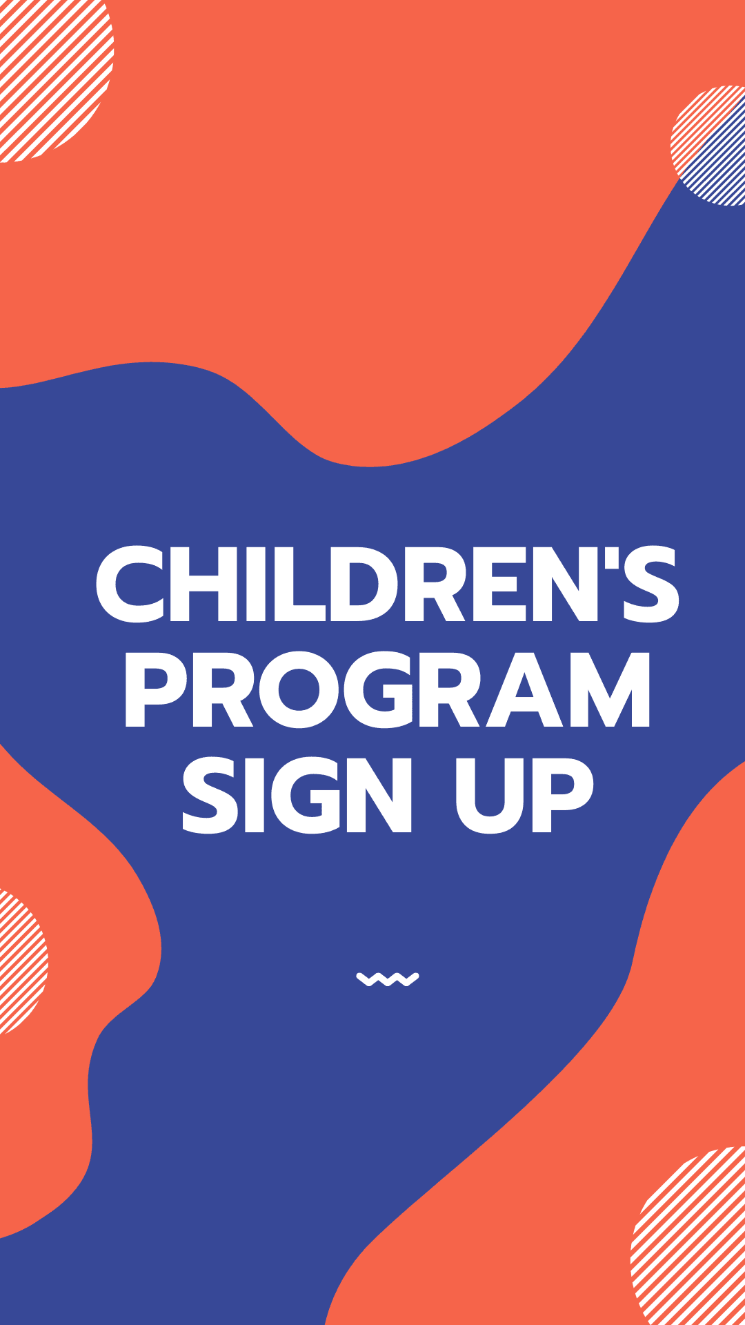Children Program Sign Up
