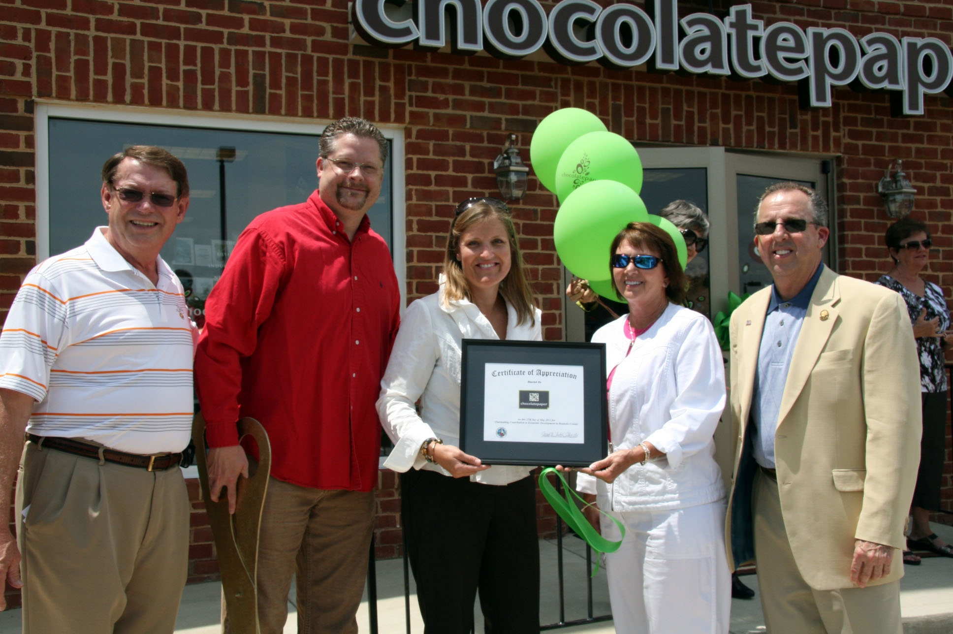 Chocolatepaper Ribbon Cutting